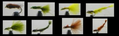 TALON 8 SUPER DAMSEL SELECTION TROUT FLIES (SDS)