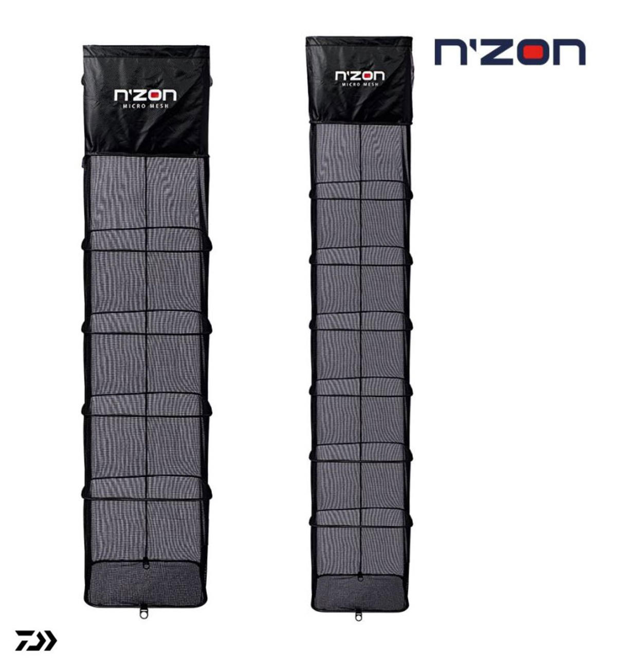 New Daiwa N'ZON Micromesh Keepnets - 2.5m / 3m - Coarse Fishing Nets