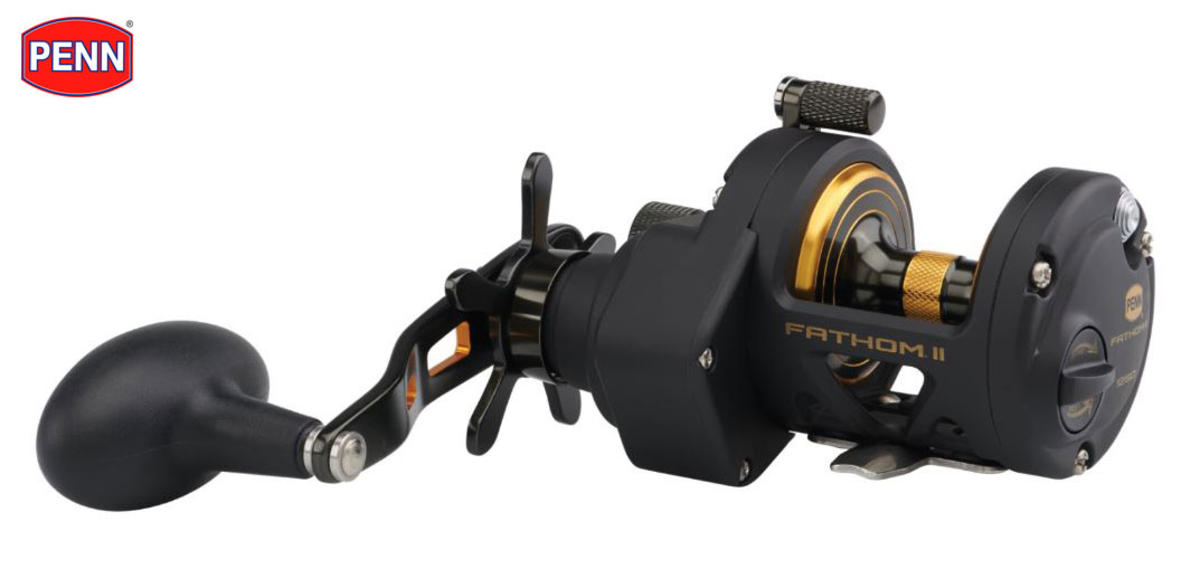 New PENN® Fathom® II 12 Star Drag Mag Brake Multiplier Reel - 1505232