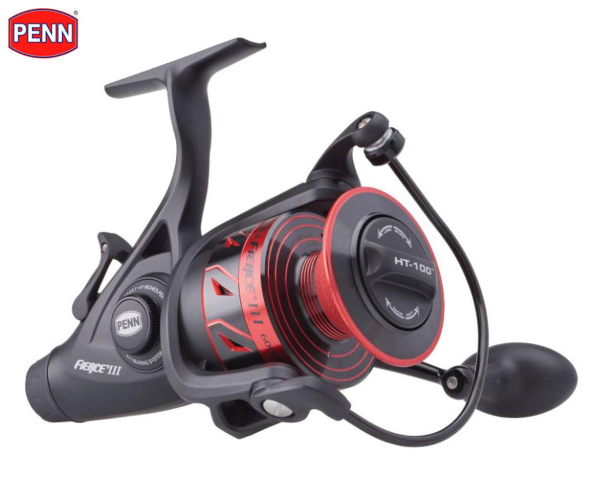New PENN Fierce III Mk3 LL Live Liner Spinning Fishing Reel - All Sizes