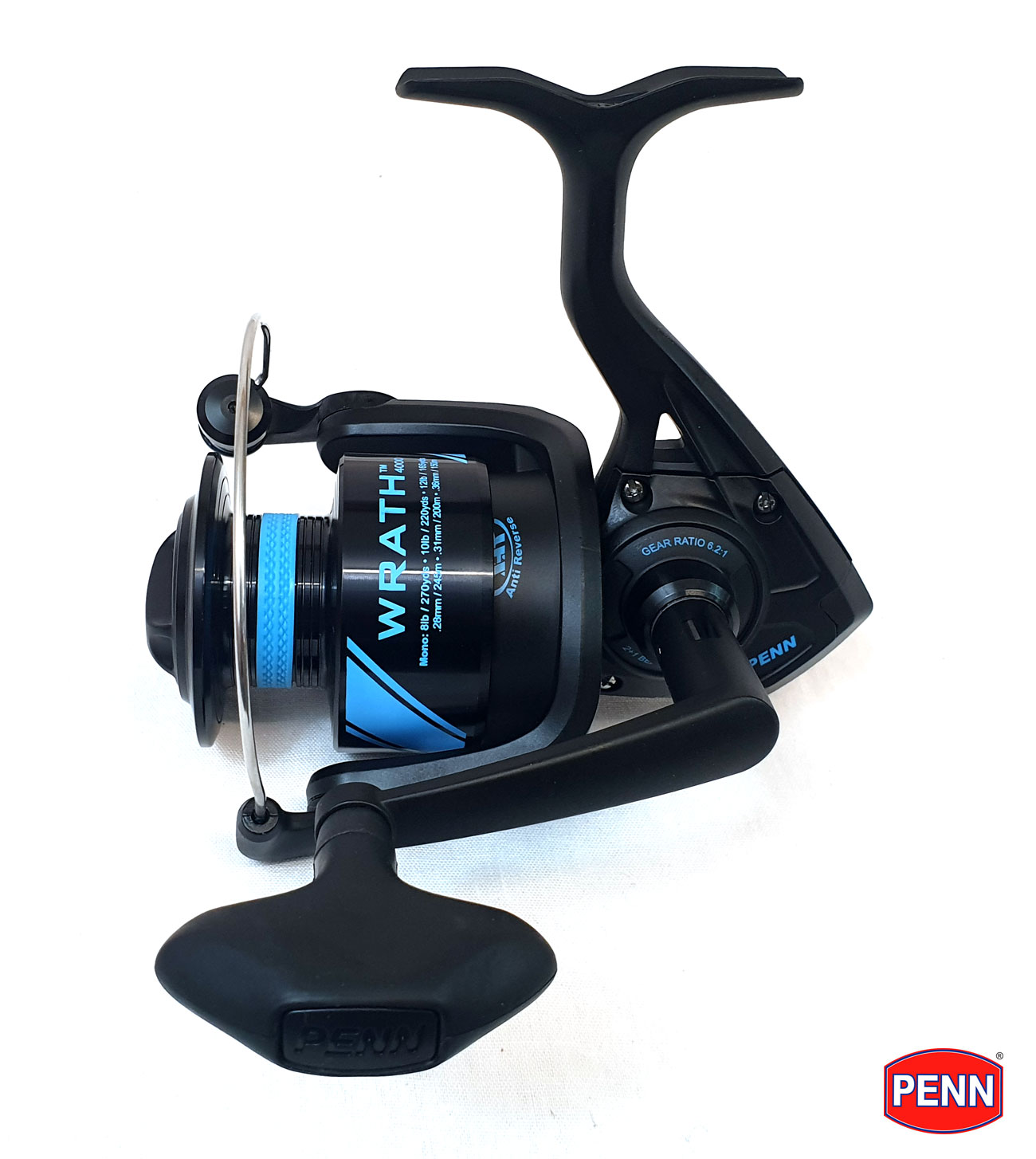 New PENN Wrath 'Fixed Spool' Spinning Fishing Reel - All ...