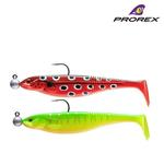 New Daiwa Prorex Classic Shad DF Pre-Rigged Pike Lures - Kit 1 - 16750-001