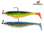 New Daiwa Prorex Classic Shad DF Pre-Rigged Pike Lures - Kit 2 - 16750-002