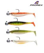 New Daiwa Prorex Classic Shad DF Pre-Rigged Perch Lures - Kit 1 - 16751-001