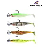 New Daiwa Prorex Classic Shad DF Pre-Rigged Perch Lures - Kit 2 - 16751-002