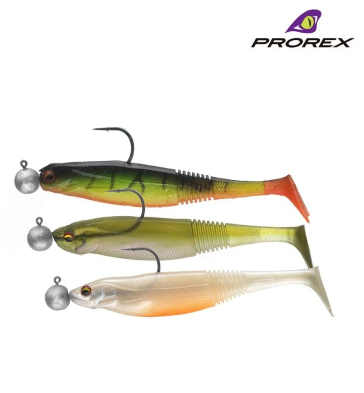 New Daiwa Prorex Classic Shad DF Pre-Rigged Zander / Perch Lures - Kit 2