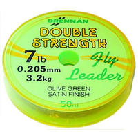 DRENNAN DOUBLE STRENGTH LOW DIAMETER LEADER 2,3,4,5,6,7,8,10 & 12lb BS
