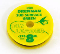 DRENNAN SUBSURFACE FLY LINE TIPPET LEADER MATERIAL 3,4,5,6,8,10 & 12 lb