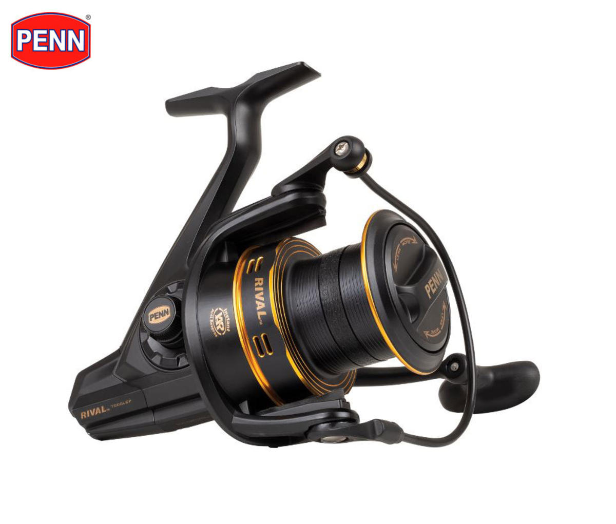New PENN Rival Longcast Gold Surf / Carp Casting Spinning Reel - Fixed Spool