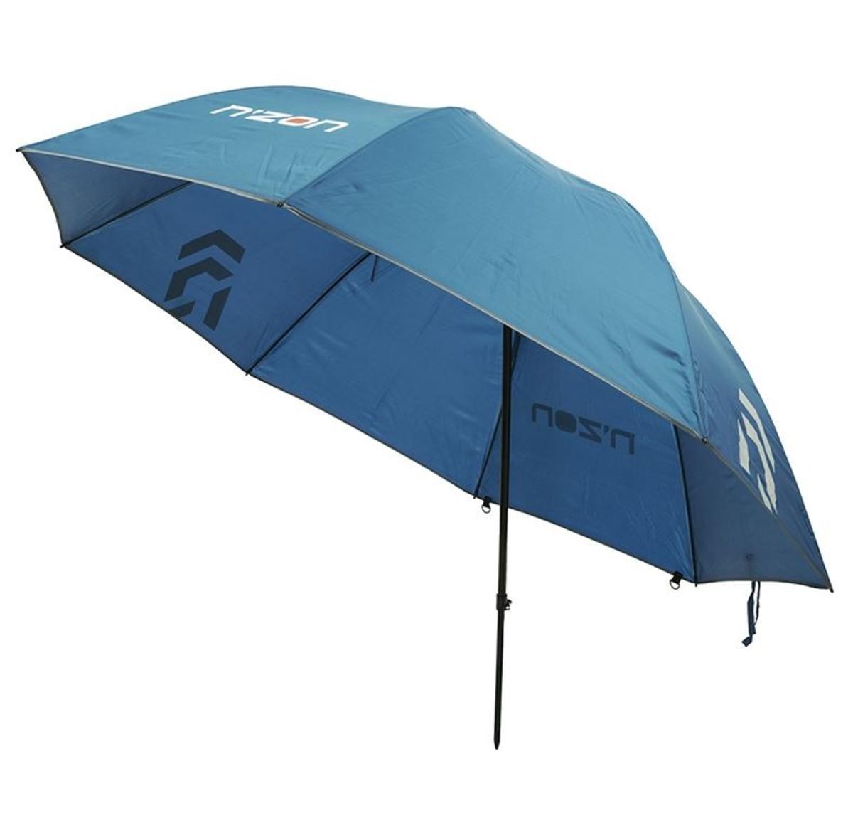 "New Daiwa N'ZON 125cm / 50"" Fishing Brolly / Umbrella - Round - NZB125"