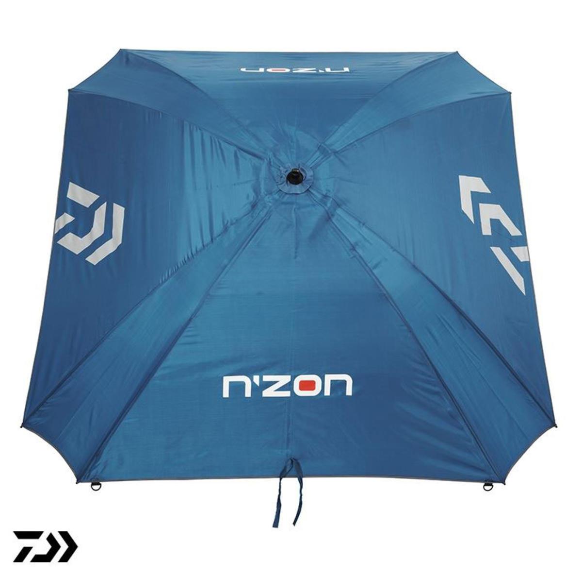"""New Daiwa N'ZON 125cm / 50"""" Fishing Brolly / Umbrella - Square - NZSB125"""