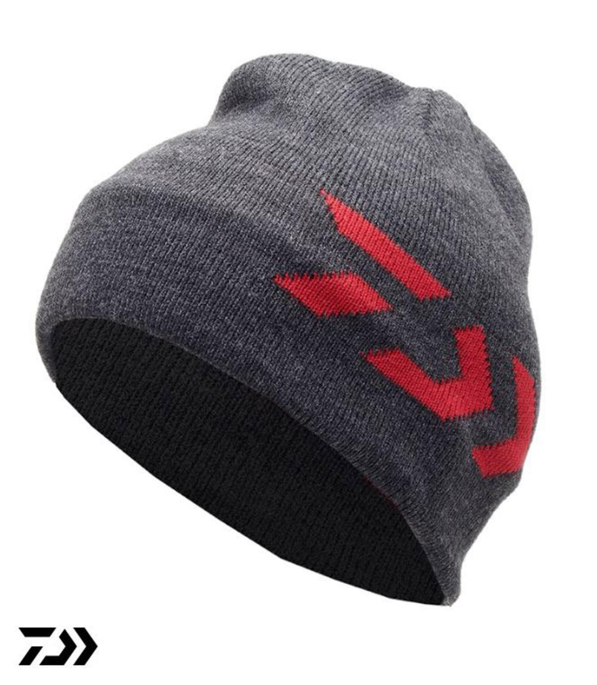 New Daiwa Thermal Beanie Hat - Grey - DVTBH1