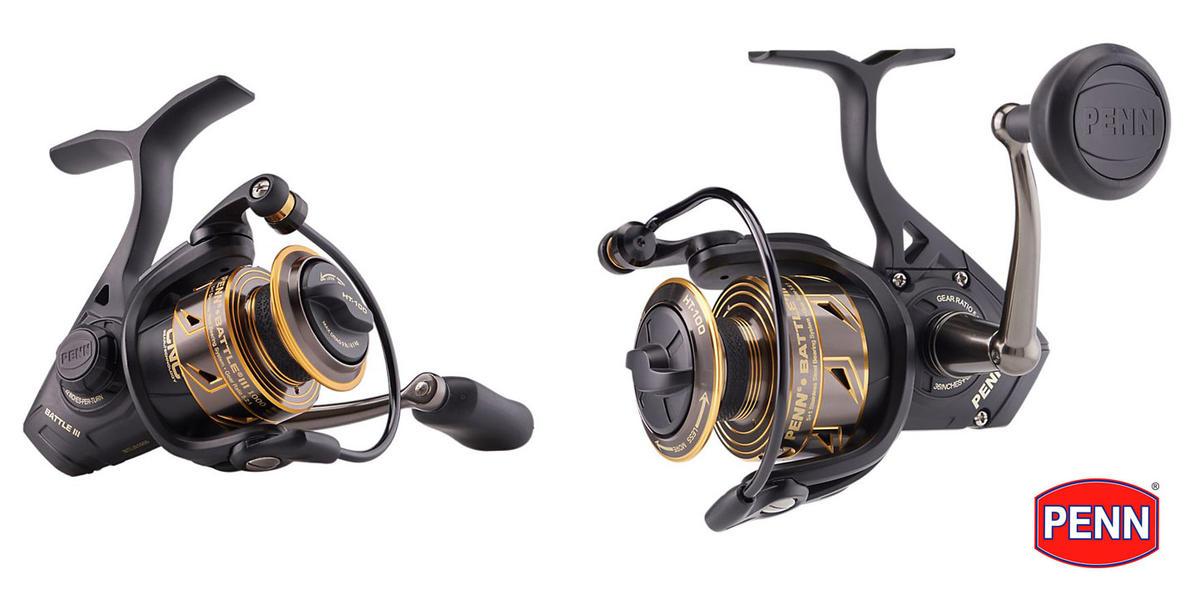 New PENN Battle III MK3 Spinning / Fishing Reel - New 2020 - All Models