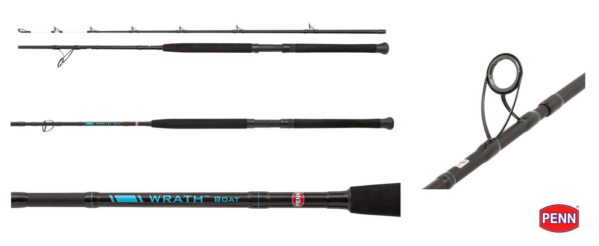 New Penn Wrath Boat Fishing Rods - 7ft - 20-30lb / 30-50lb Class