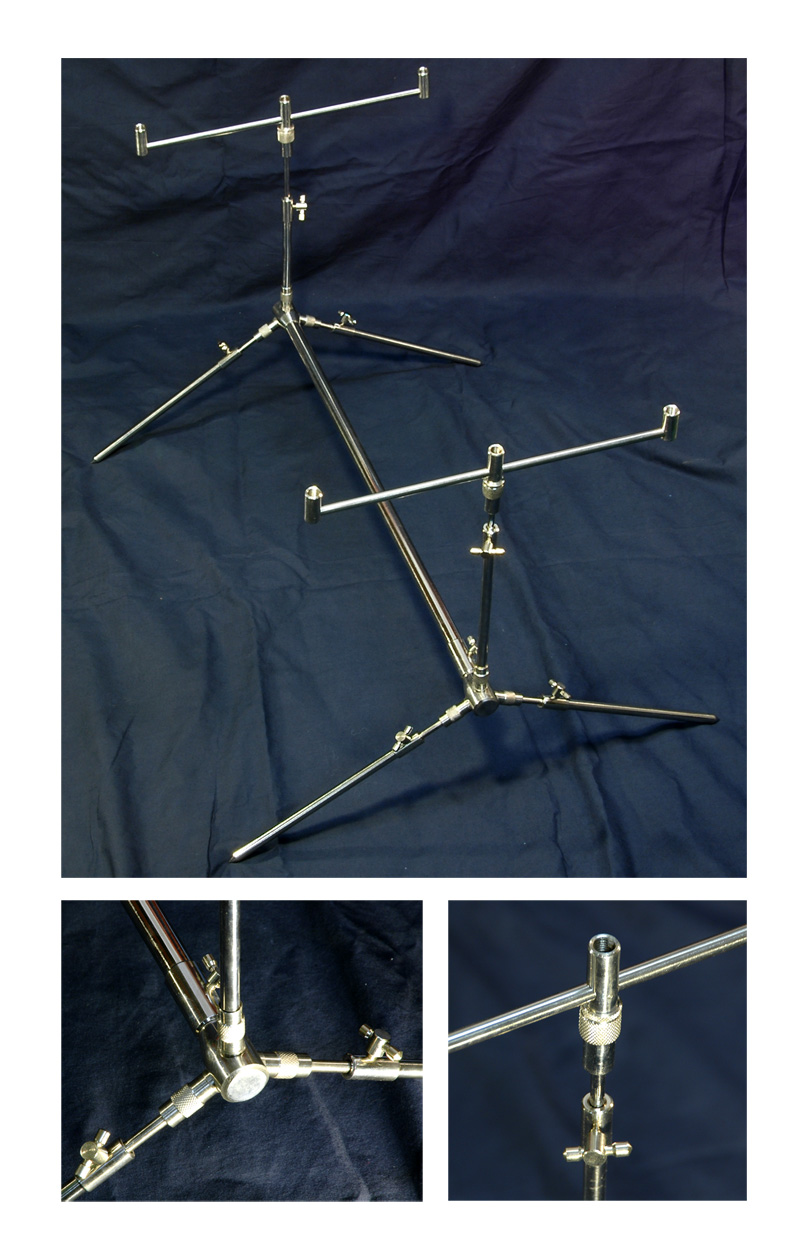 BISON ALL STAINLESS STEEL 3 ROD ROD POD