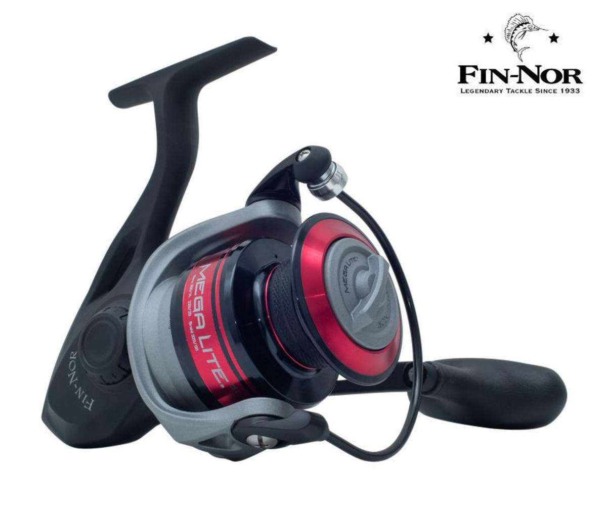New Fin-Nor Mega Lite MLS Fixed Spool Spinning Fishing Reel - All Sizes