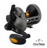 New Fin-Nor Lethal Lever Drag 2 Speed Multiplier Fishing Reel - All Sizes