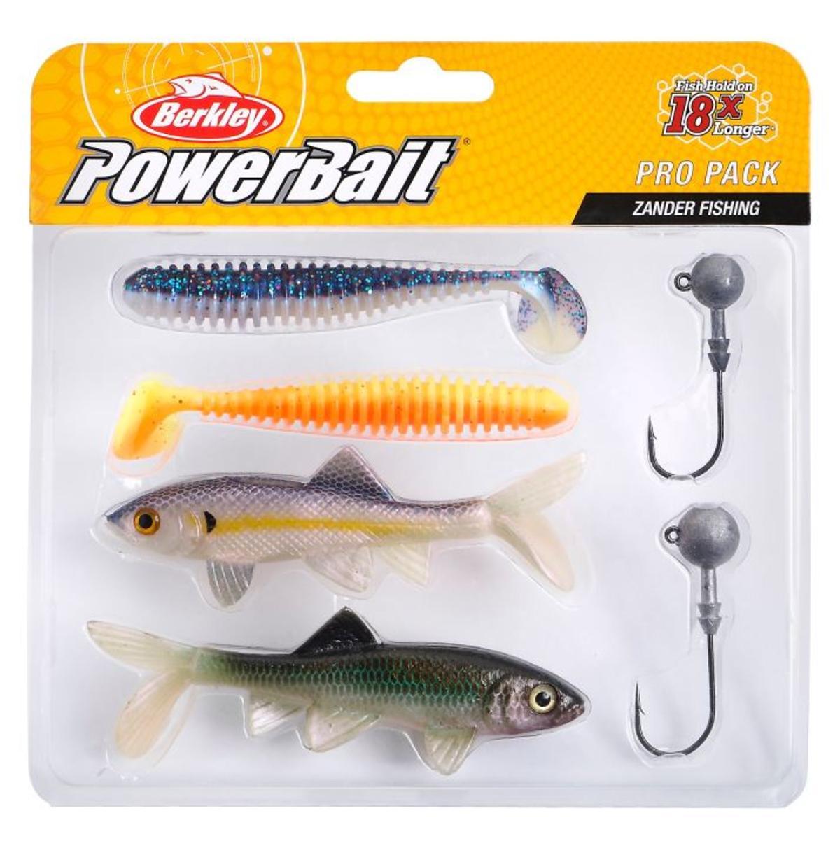 New Berkley Pro Pack Zander Lure Fishing Set - Lures & Jigheads
