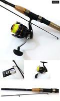 Daiwa Crossfire X Fishing Combo - 8ft Rod & Crossfire Reel - Loaded with J-Braid