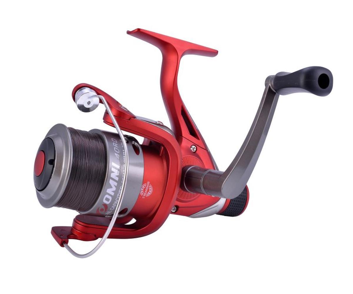 New Shakespeare Omni Match / Float 40RD Rear Drag Fishing Reel - Spool & Line
