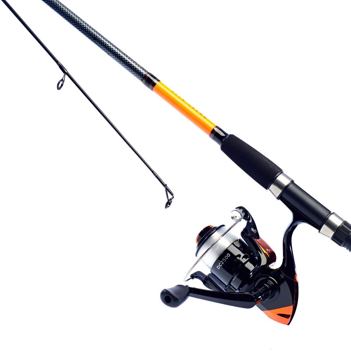 New Daiwa Sensor Fishing Combo - 8ft Rod & Sensor 2500 Reel - Loaded with Mono