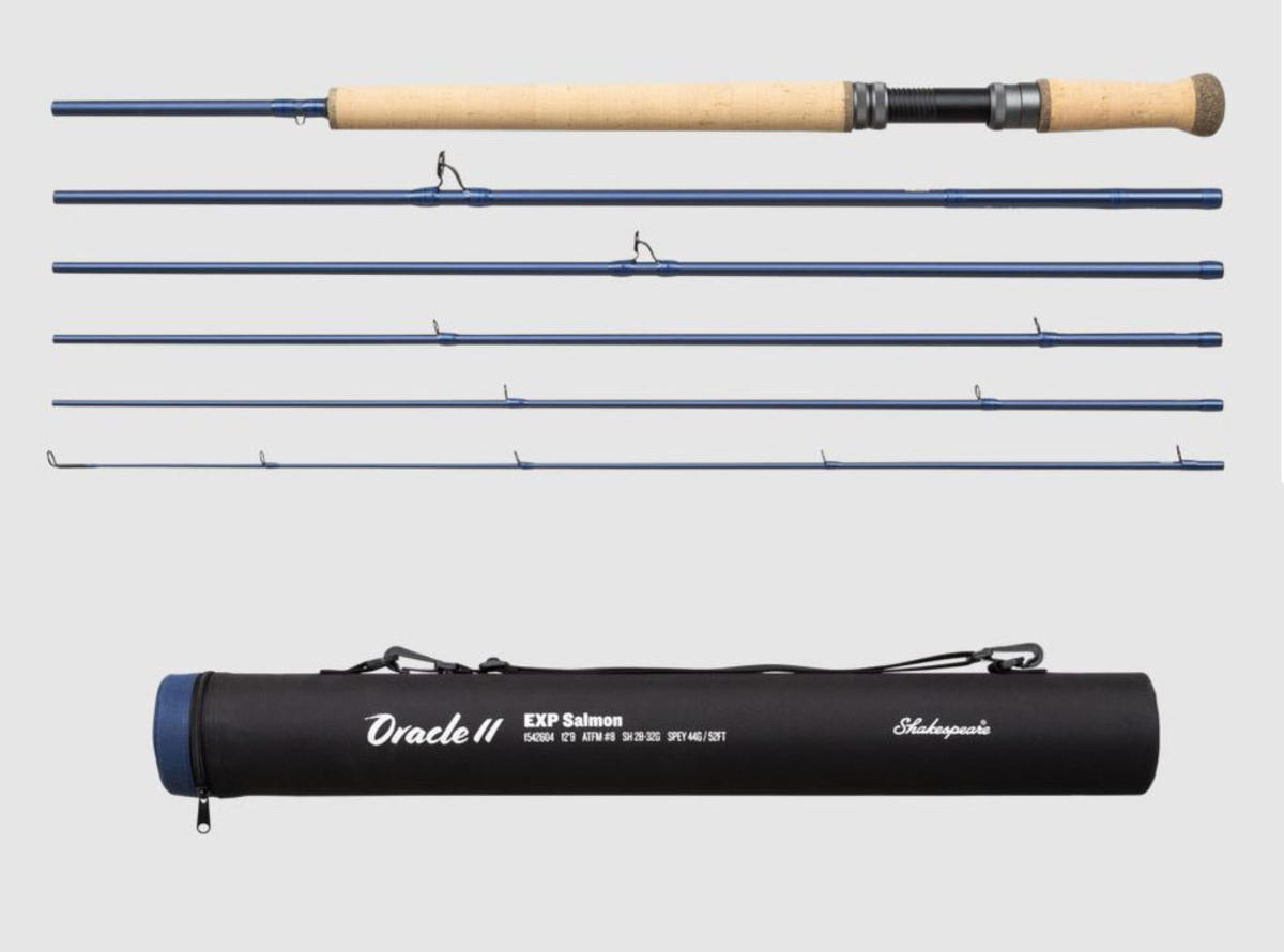 New Shakespeare Oracle 2 EXP Travel Salmon Fly Fishing Rods - All Models