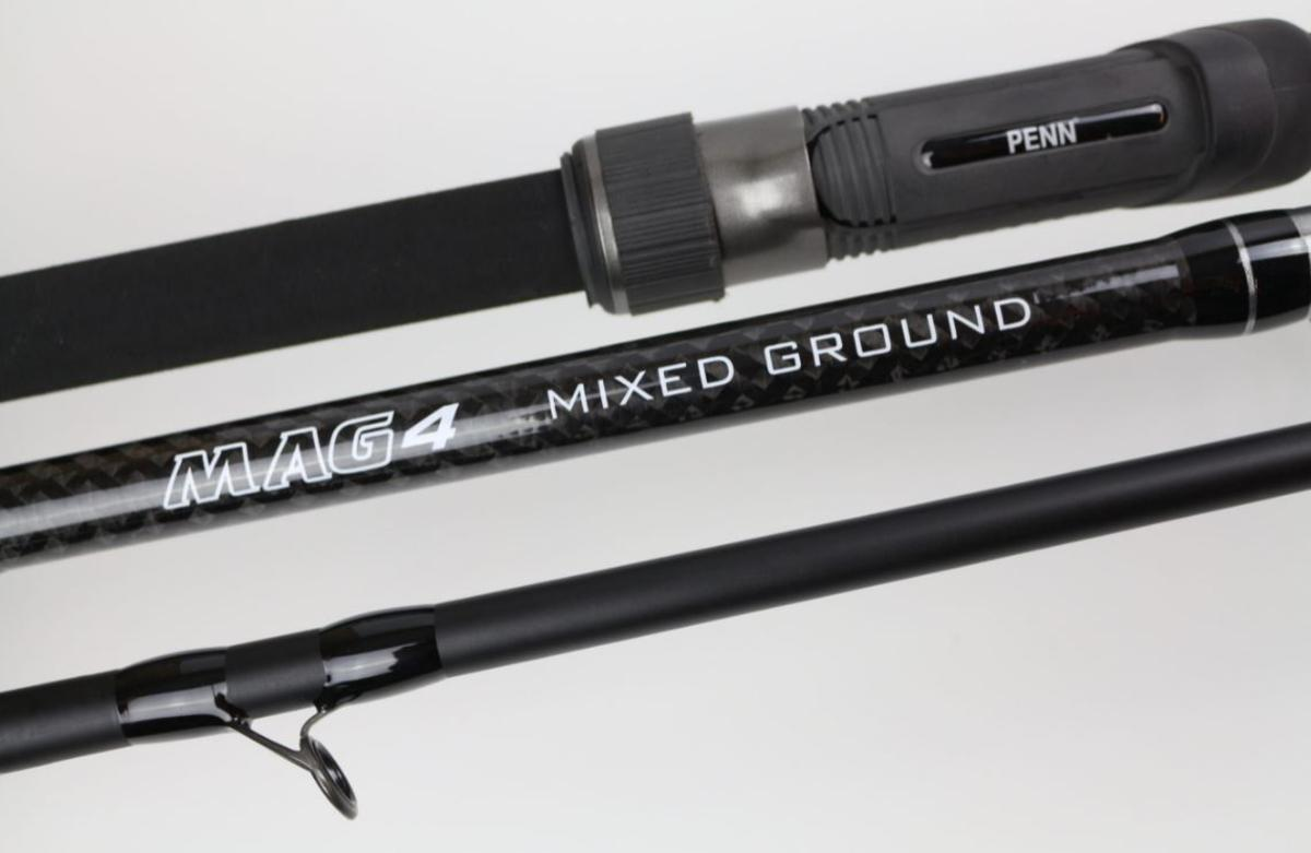 New Penn MAG4 Mixed Ground Beachcasting  Rod - 14ft / 6oz / 3 section - 1536564