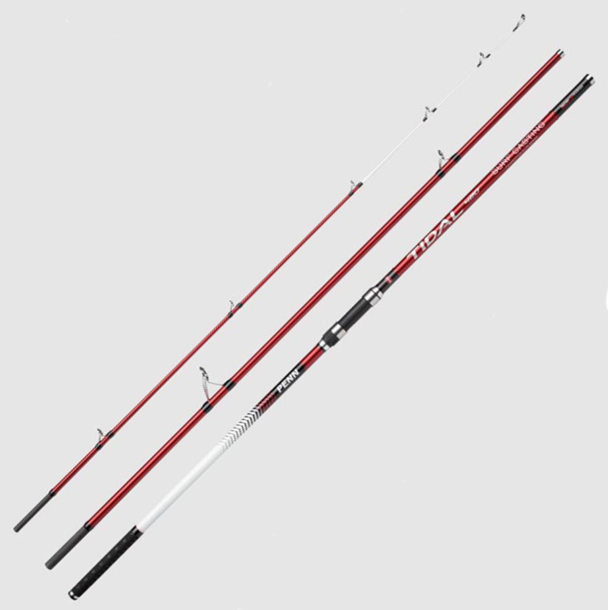 New Penn Tidal Surfcasting Beach Fishing Rod - 14ft / 50-200g / 3pc - 1541068