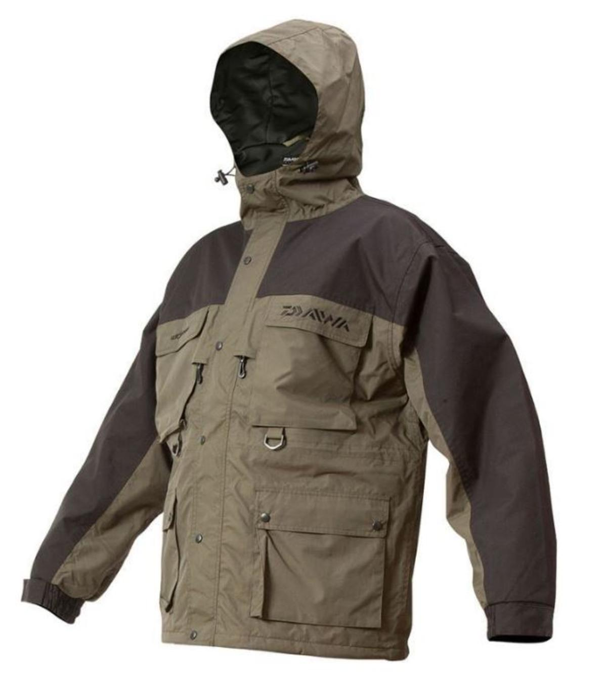 Ex Display Daiwa Wilderness 3/4 Jacket - Size Large - DWJ-L