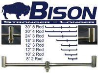 BISON STAINLESS STEEL SINGLE POST BUZZ BARS