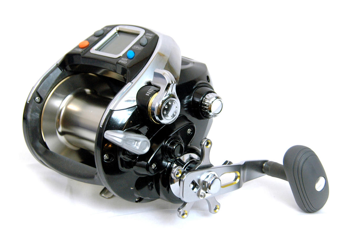 Banax kaigen 1000 electric multiplier reel new model for Electric fishing reels