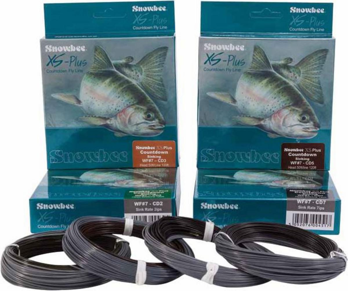 SNOWBEE XS PLUS COUNTDOWN FLY LINES ALL SINK RATES AVAILABLE