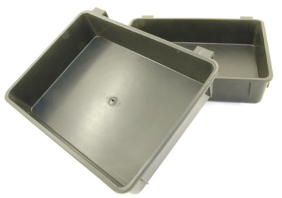 BLACK SIDE TRAY FOR SHAKESPEARE TEAM / BETA & DAIWA SEAT BOX SEATBOX