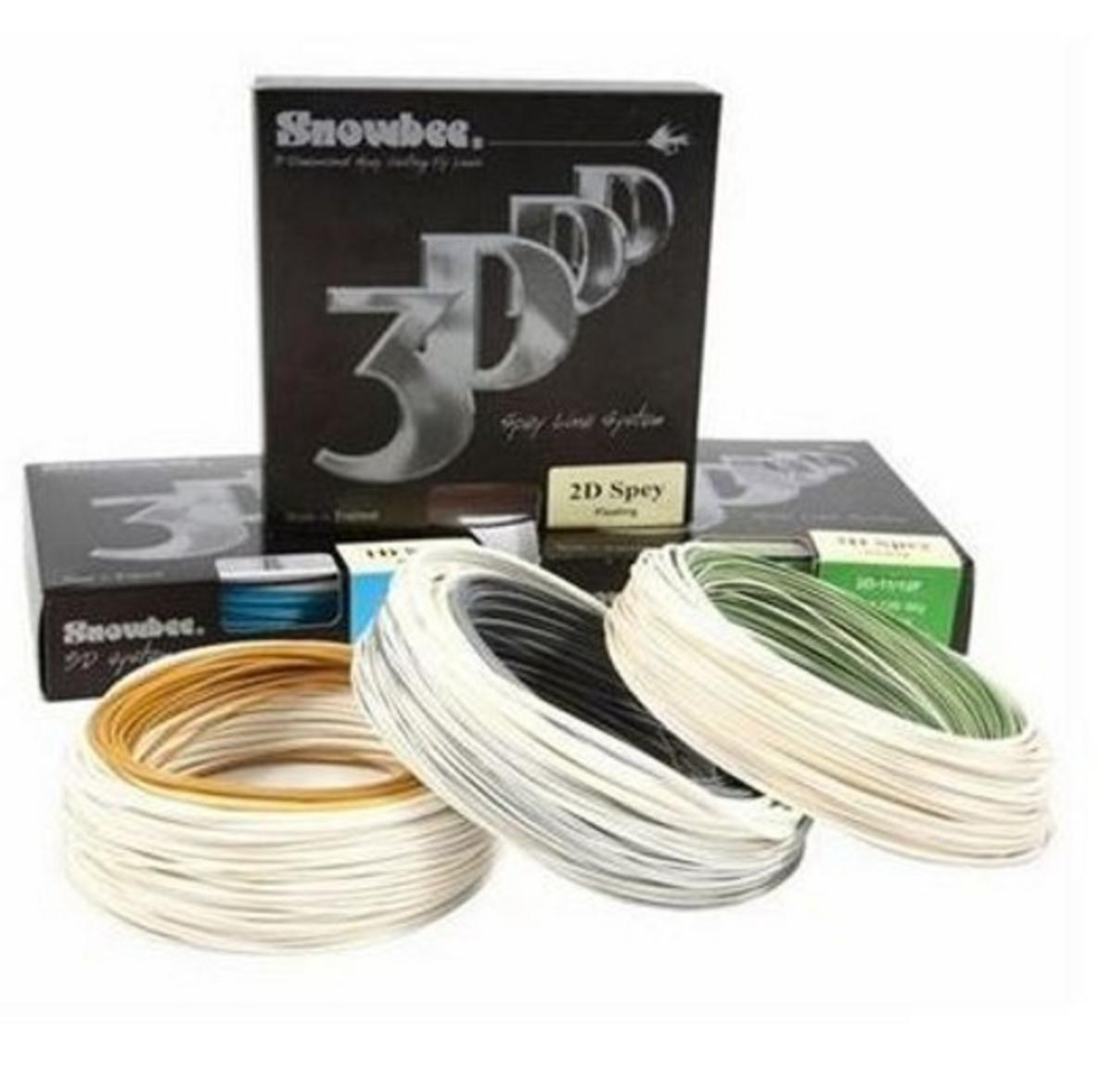 SNOWBEE SPEY LINE 1D 2D 3D FL/INT/SINK TIP 8-9-10-11-12