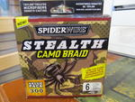 SPIDERWIRE STEALTH CAMO BRAID 300YD 6LB SPECIAL CLEARANCE OFFER