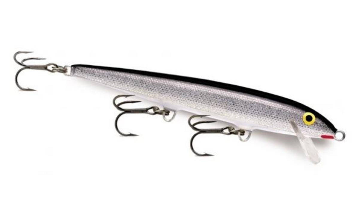 RAPALA FLOATING 11 CM SILVER RAPF11S