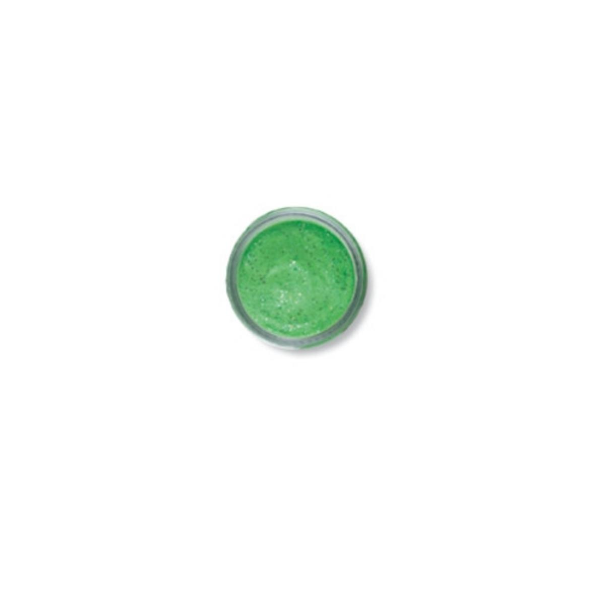 BERKLEY POWERBAIT EXTRA SCENT SPRING GREEN GLITTER