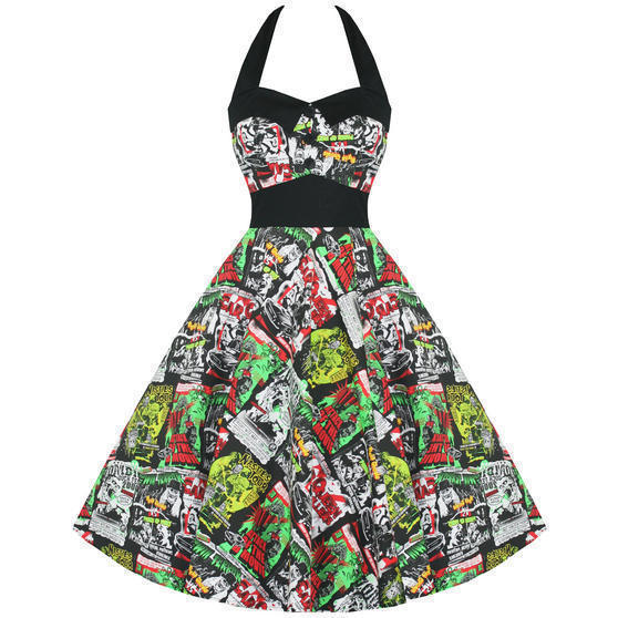 Hell Bunny B Movie 1950s Dress