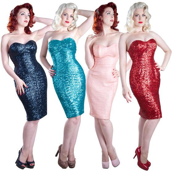 Gerry Roxby Jessica Sequin Dress
