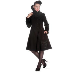Hell Bunny Fairy Tale Black Coat