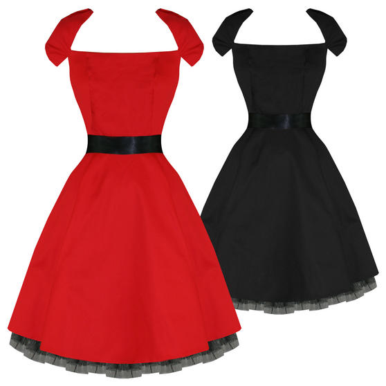Hearts and Roses London Retro 1950s Dress