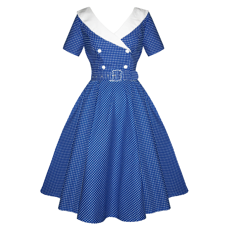 1950s Vintage Wedding Dress Vintage Inspired 1950s Dress