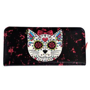Banned Black Sugar Cat Skull Wallet