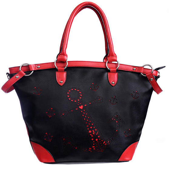 Banned Red Anchor Handbag