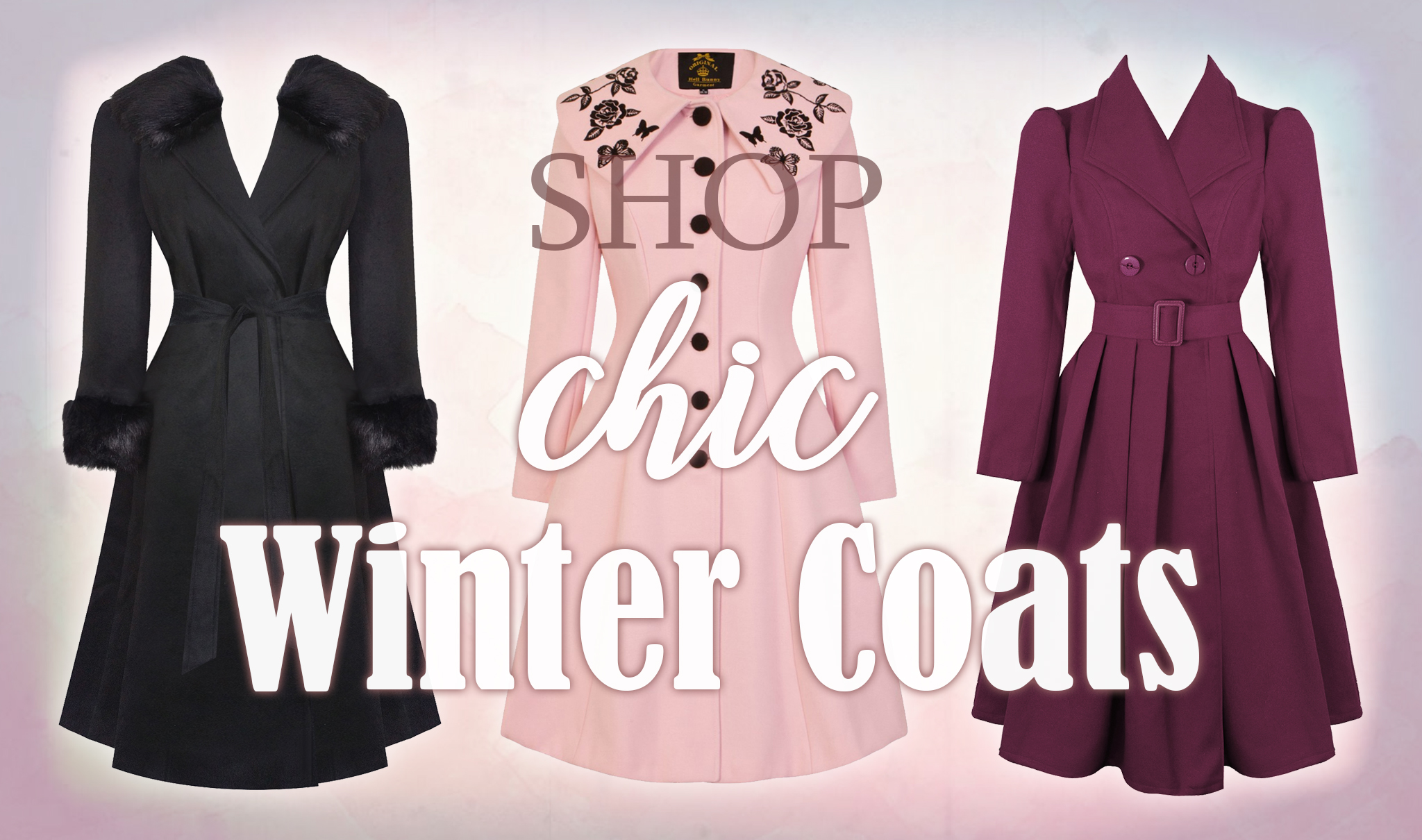 Vintage Style Winter Coats