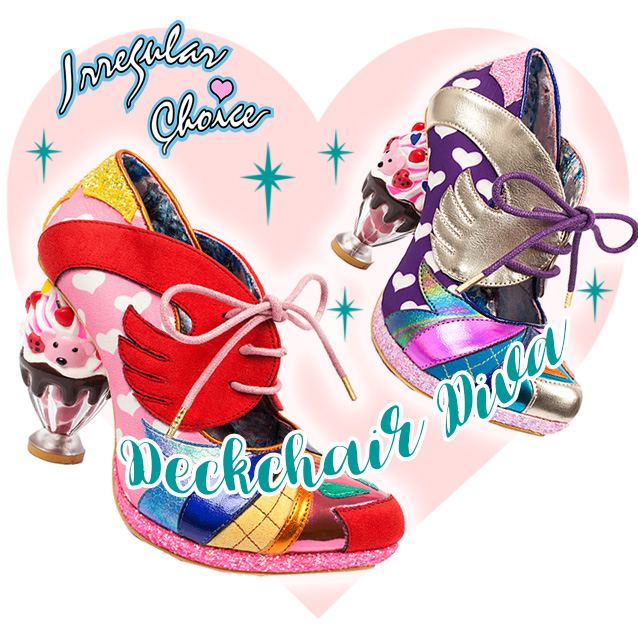Irregular Choice Deckchair Diva Shoes