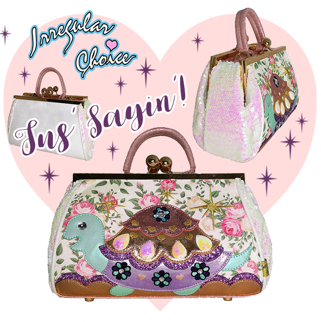 Irregular Choice Jus Sayin Handbag