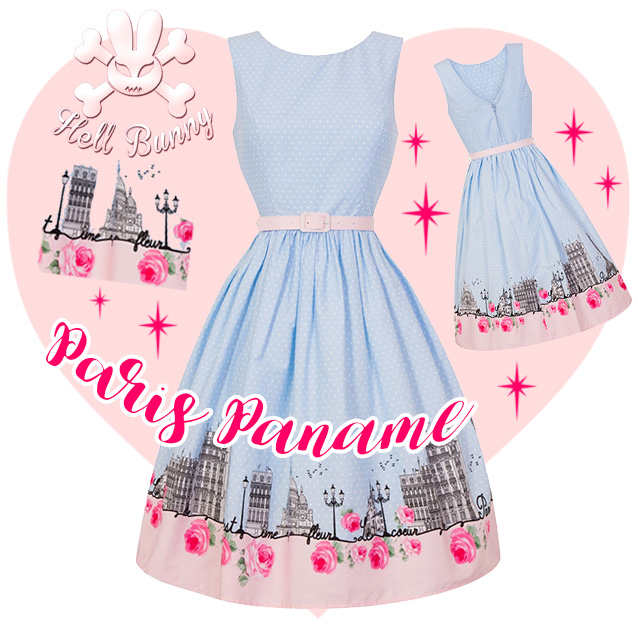 Hell Bunny Paname Dress