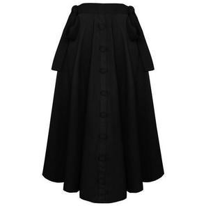Banned Black Midi Skirt
