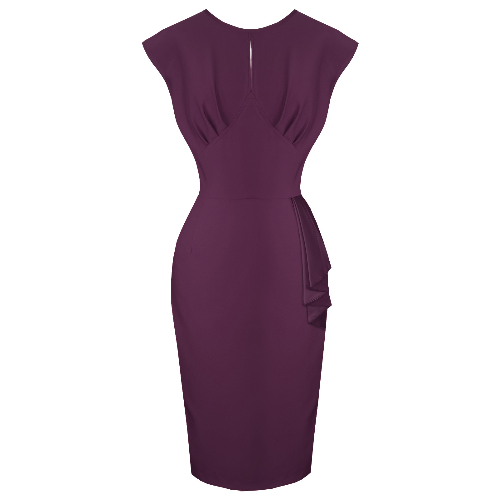 289f71975 Hell Bunny Bernadette Purple Pencil Dress | Plus Size Dresses | Starlet  Vintage